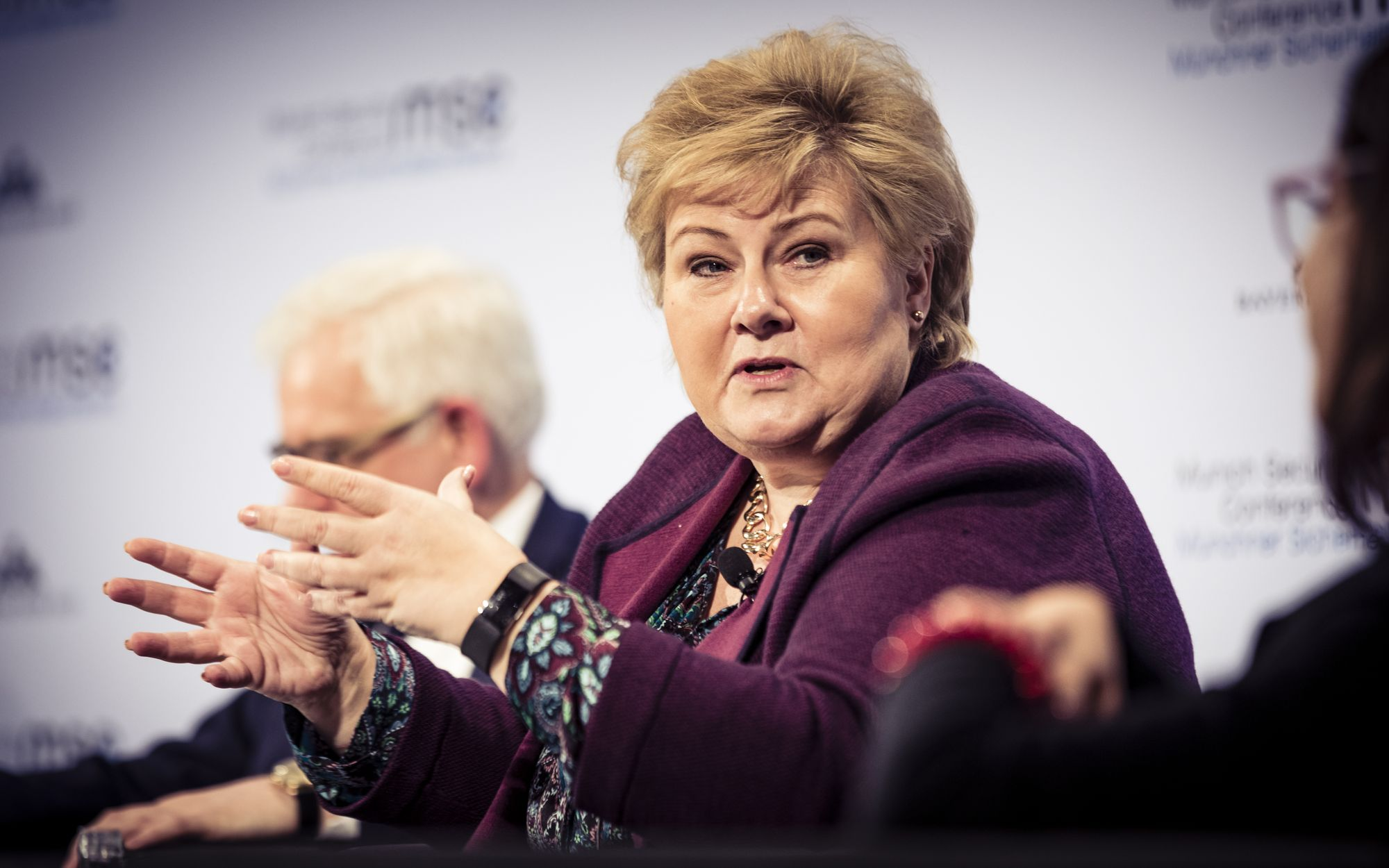 Conversation With Erna Solberg